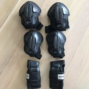 Rollerblad protective gear